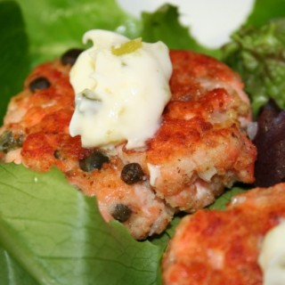 Flip flops and salmon cakes (How lucky am I?)