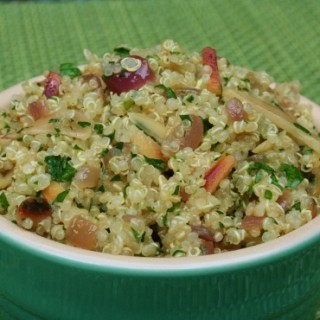 Quinoa with Parsley and Almonds