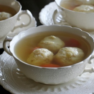 Passover Chicken Soup with Matzo Balls, or: A Tale of Two Generations