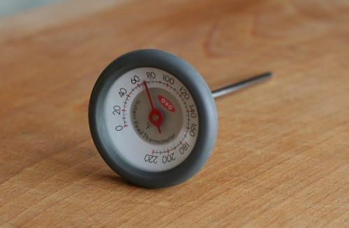 The ESSENTIAL instant read meat thermometer
