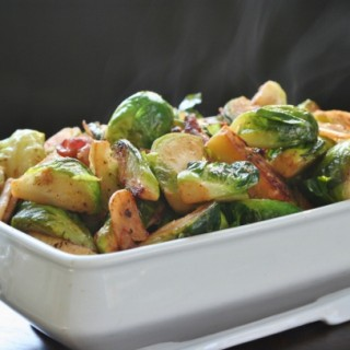 Brussels Sprouts with Bacon: Easy Do-Ahead Side Dish for Thanksgiving
