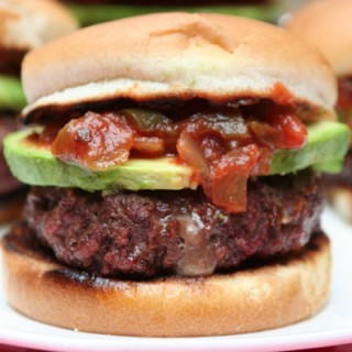 Tex-Mex Pepperjack Stuffed Burger