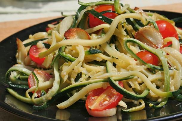 Little Kitchen Love Story and Zucchini Spaghetti
