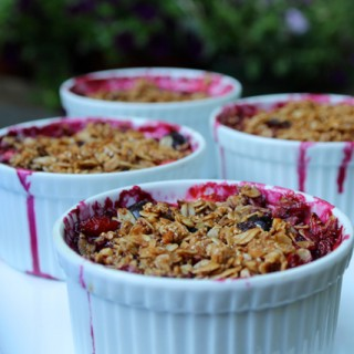 Individual Fruit Crisps: the Perfect Fast, Easy Barbecue Party Dessert