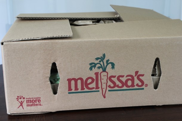 A gift box from Melissa's