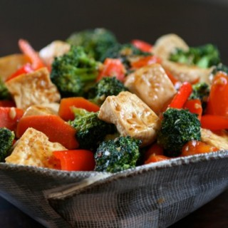 Simple Tofu and Broccoli Stir Fry
