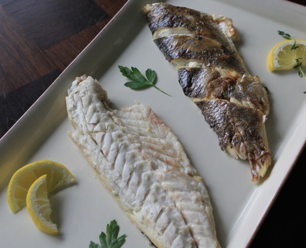 How to cook and bone a whole fish for How to cook a whole fish