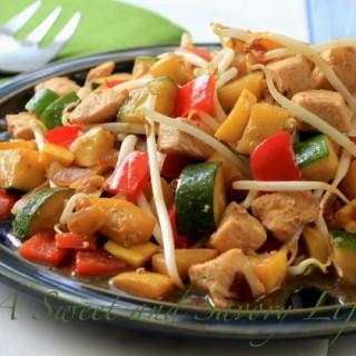 Dinner Tonight: Simple Chicken & Vegetable Stir Fry
