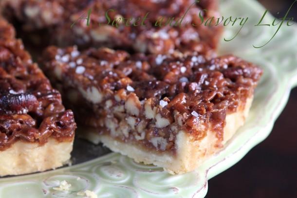 Pecan Caramel Tart with Sea Salt Crunch