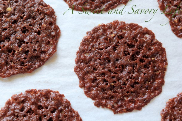Marge Perry's Chocolate Lace Cookies