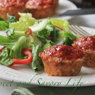 Dinner Under 300 Calories: Meatloaf Muffins