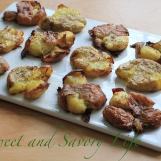 Smash Roasted Potatoes: Perfect for Superbowl