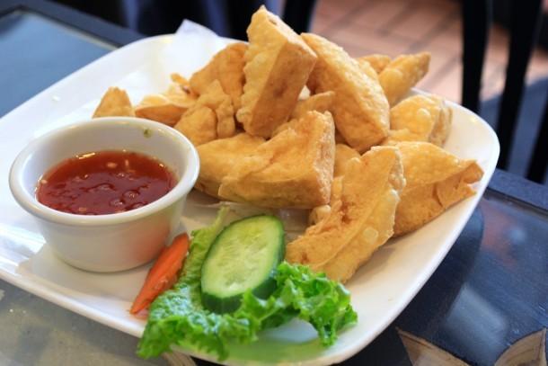 Fried Tofu at Chao Thai