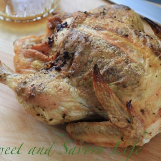 Rosemary Orange Roast Chicken