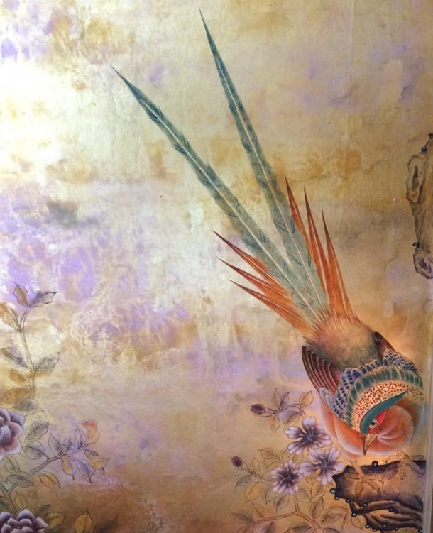 Wallpaper from the exquisite Bennett Leifer room