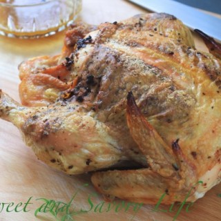 Garlic, Rosemary and Orange Roast Chicken