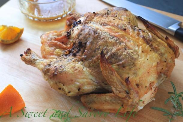Garlic Orange Rosemary Chicken
