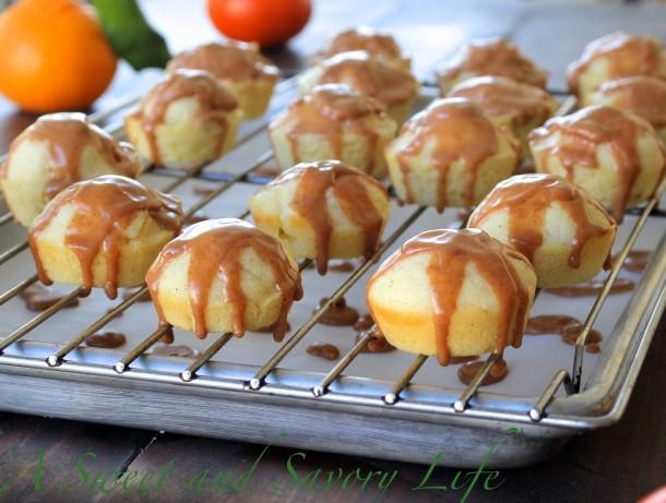 Cinnamon Glazed Doughfins