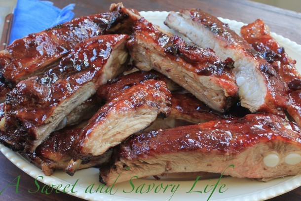 Cherry Glazed Spareribs