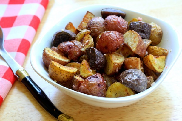 Knock-your-socks-off roast potato salad