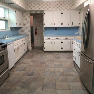 Before- Long, narrow kitchen