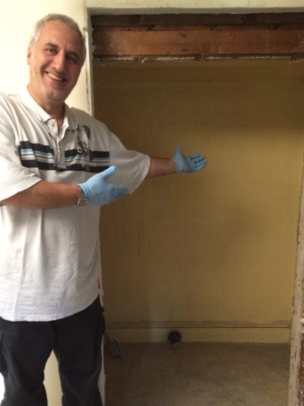 Shlomo Kadosh uncovers the hidden room