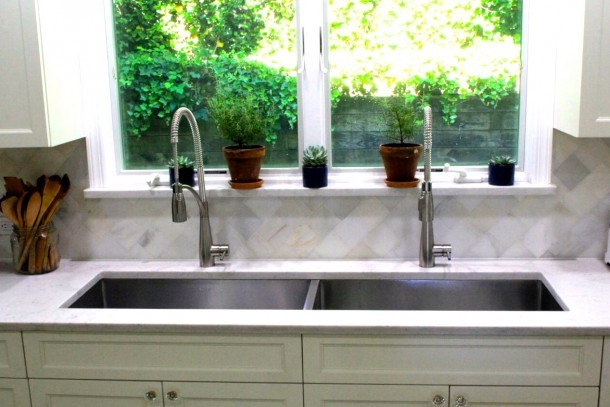 Two Sinks Side By