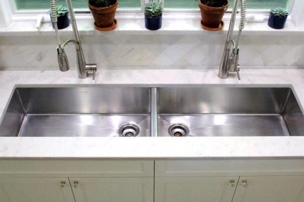 Custom designed Elkay sinks