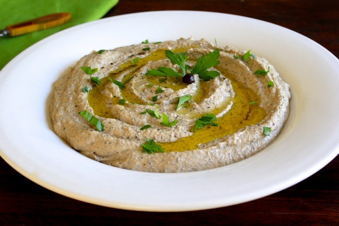 Black Chickpea Hummus