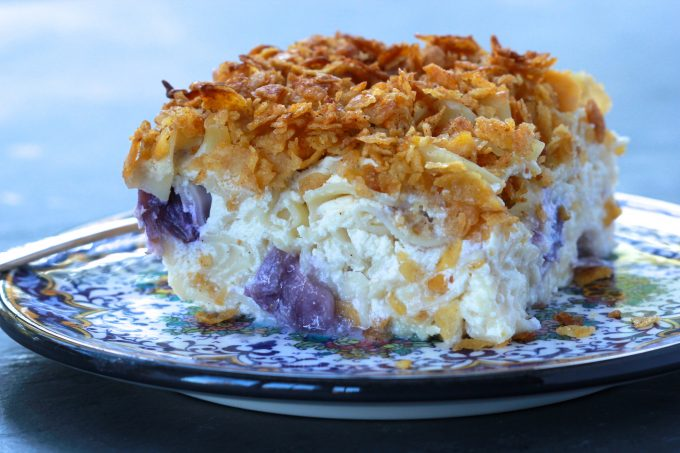 Noodle Kugel with Cornflake Crust