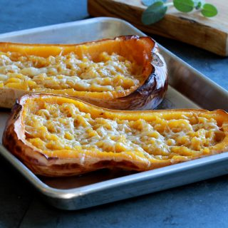 Roast Stuffed Butternut Squash