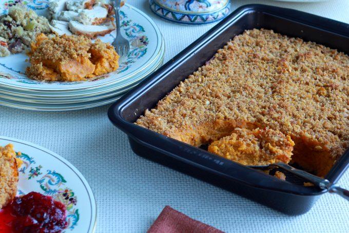Souffléd Sweet Potatoes