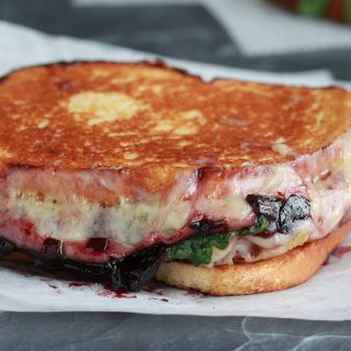 Grilled Cheese with Cherry Wine Spread: Magic in the Land of Disney