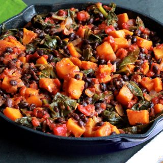Healthy Short-Cut Ingredients for a Fast, Hearty and Meatless Skillet Supper