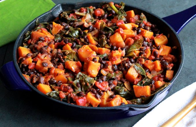 Balc Bean and Butternut Squash Stew
